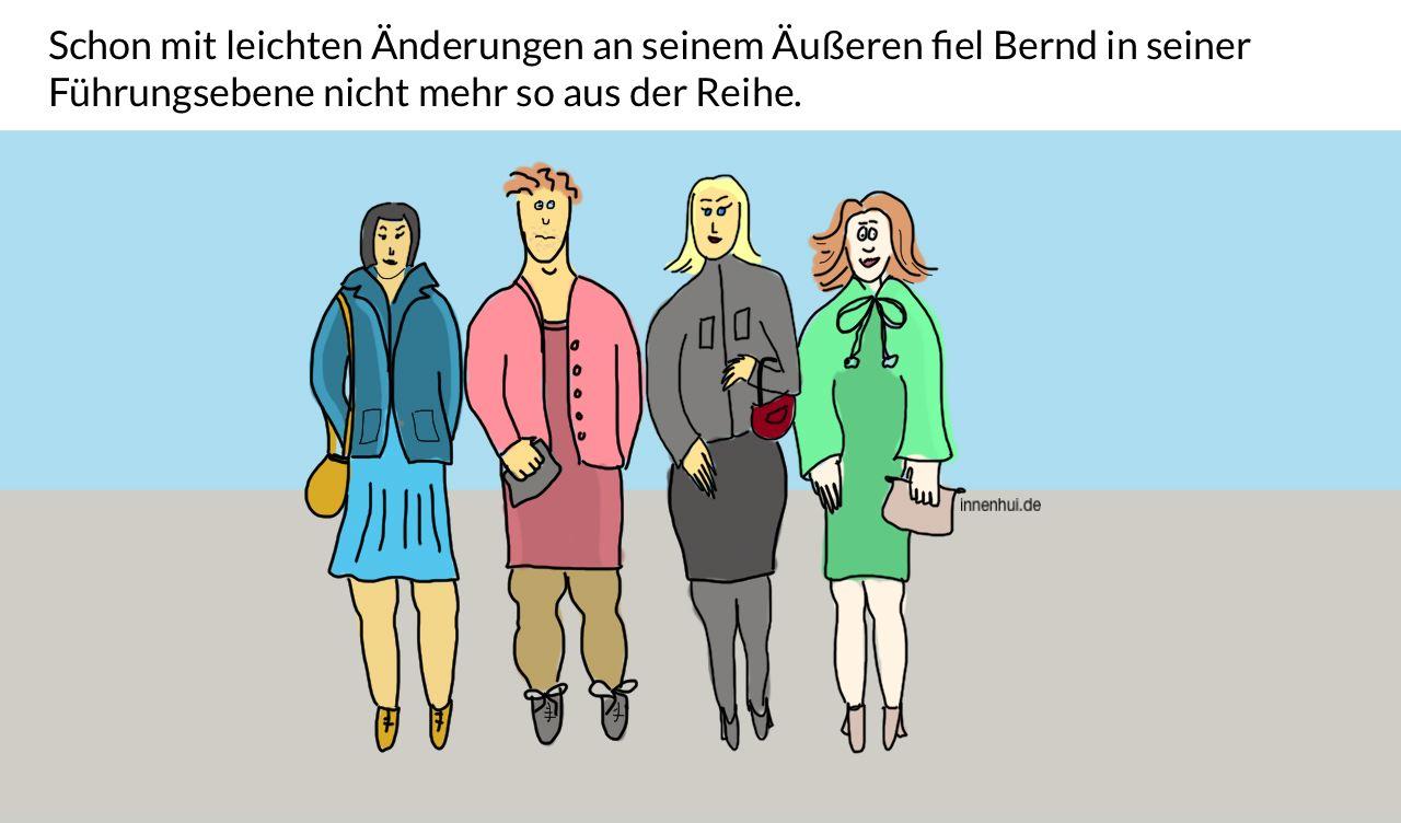 Mann-Frau-Gender Diversity